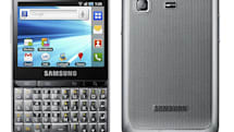 Samsung Galaxy Pro combines 2.8-inch touchscreen with a portrait QWERTY keyboard, modest specs