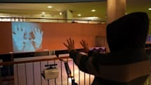 Kinect hacks, performance art edition: pin boards, puppets and RoboThespians