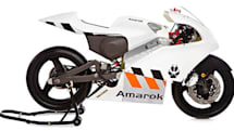 Amarok's P1 electric motorcycle prototype is fast, light, and ready to race