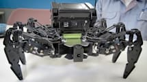 Kondo's spring-loaded spider robot creeps on the cheap (video)