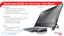 Lenovo ThinkCentre Edge 91z leaks out: a 21.5-inch all-in-one desktop with optional boot drive