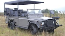 Electric Land Rover makes it way easier to sneak up on cowardly lions
