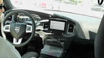 BlackBerry PlayBook gets arrested, finds itself toggling light bars in a police car (video)