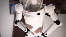ETRO robot wears its heart on its face, promises to love you