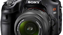 Sony announces entry-level A65, adds yet another DSLR to the Alpha family