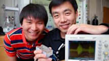 Piezoelectric system turns your balmy breath into pungent power