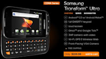 Boost Mobile adds Samsung Transform Ultra to its repertoire, hopes you'll transition for $230
