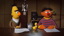 Bert and Ernie TomTom voices tell you how to get, how to get to Sesame Street (video)