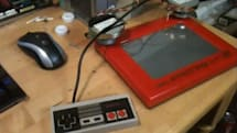 Arduino hacker conjures NES and Etch-a-sketch wonderment (video)