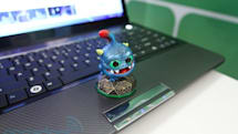 Cirque shows off its Glidepoint NFC trackpad built into a laptop, we go hands-on (video)