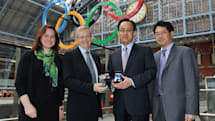 Samsung partners with FeliCa for Japanese NFC solutions, unveils 2012 Olympics' mobile payment app with Visa