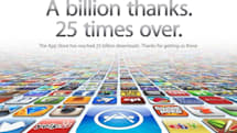 Apple crosses 25 billion App Store downloads, thanks all the little people (updated)
