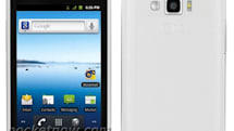 LG Optimus Elite gets photographed, decked out in Sprint and Virgin livery