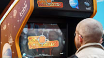 Tobii EyeAsteroids 3D lets you destroy virtual space stones with a gaze, we go eyes-on (video)