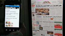 Newsflash uses high-frequency light to transmit data from iPad to smartphone, we go hands-on (video)
