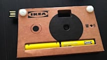 Ikea cardboard digital camera: when Instagram isn't authentic enough (video)