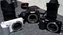 Sony NEX-F3 and A37 cameras hands-on and sample shots
