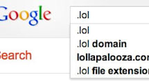 Google springs for .lol, .youtube domains, we wonder if it's going TLD .crazy
