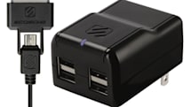 Scosche debuts Revolt H4, a four-port, 10W USB charger at CTIA Wireless (updated: only two-port model available now)