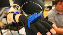 ATLAS bimanual-rehabilitation glove system hands-on (video)