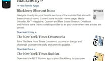 New York Times ends support for official BlackBerry, WebOS apps
