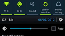 Samsung Galaxy S III OTA update adds brightness widget to drop-down menu