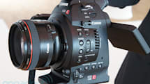 Canon Cinema EOS C100 hands-on (video)
