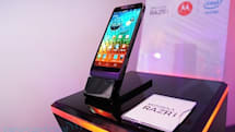 Motorola RAZR i: hands-on with the 2GHz Android phone (video)