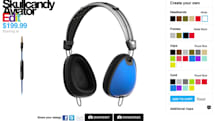 Skullcandy launches Edit headphone customization service, personalized cans from $199 (video)
