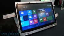 Panasonic shows off foldable Windows 8 Ultrabook hybrid, launches October 26 (hands-on)