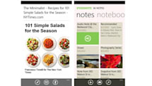 Evernote 2.5 for Windows Phone brings new layout with improved performance