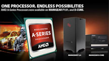 Maingear welcomes AMD A-Series APUs to its F131 and X-Cube desktop PCs