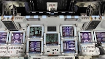 Space Shuttle Atlantis hands-on: a look inside (video)