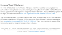 Apple posts revised 'Samsung did not copy' statement, acknowledges first version was inaccurate