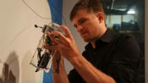 Keepon co-creator Marek Michalowski shows off his Arduino-powered wall drawing robot (video)