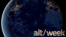 Alt-week 12.08.12: The oldest known dinosaur, lighting up a space station and the black marble