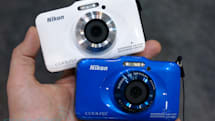 Nikon Coolpix AW110 and S31 ruggedized cams see some action at CP+ (hands-on video)