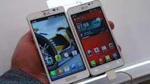 LG Optimus F7 and F5 hands-on: mid-range devices for first time LTE users (video)