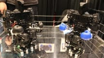 Cloudrobot hands-on: robot pugilists throw bombs, drop jaws