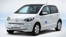 Volkswagen shows production E-Up! with 93-mile range and AC/DC charging