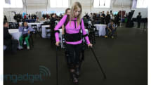 Ekso Bionics' robotic suit eyes-on (video)