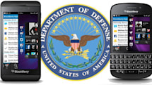 BlackBerry Z10, Q10 and PlayBook get DoD approval
