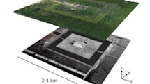 LIDAR reveals ancient city remnants beneath Cambodian jungle