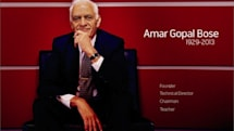 Dr. Amar Bose, audio visionary, dies at 83