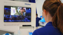 Haier shows off its latest eye-controlled TV at IFA, we go eyes-on, naturally (update: video)