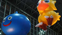 TGS: Keeping booths afloat with airborne decoration