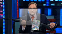 Daily Show solves video game violence issue, saves Family Game Night