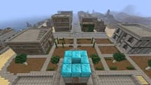 Red Dead Redemption's Blackwater and Armadillo recreated in Minecraft