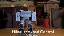 Found Footage: An iPad-controlled robot that attacks