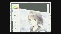 AdobeのiPadペイントアプリ「Project Gemini」実演、水彩画に消しゴムが効く衝撃